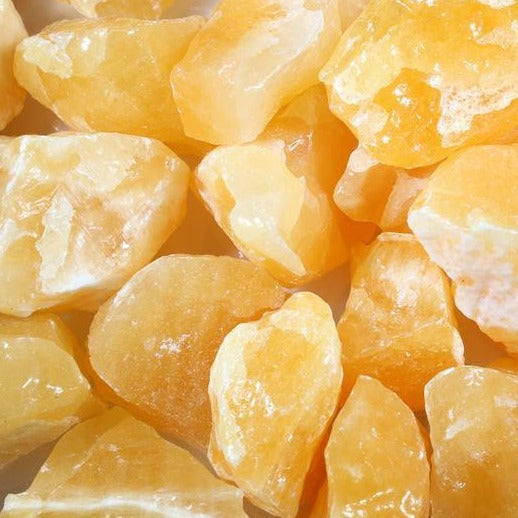 RAW ORANGE CALCITE LARGE