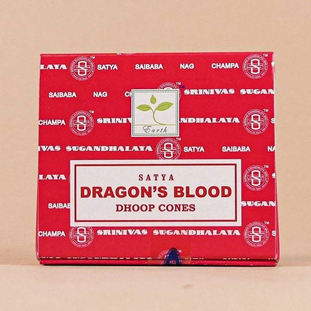DRAGON'S BLOOD CONE INCENSE - 12PK