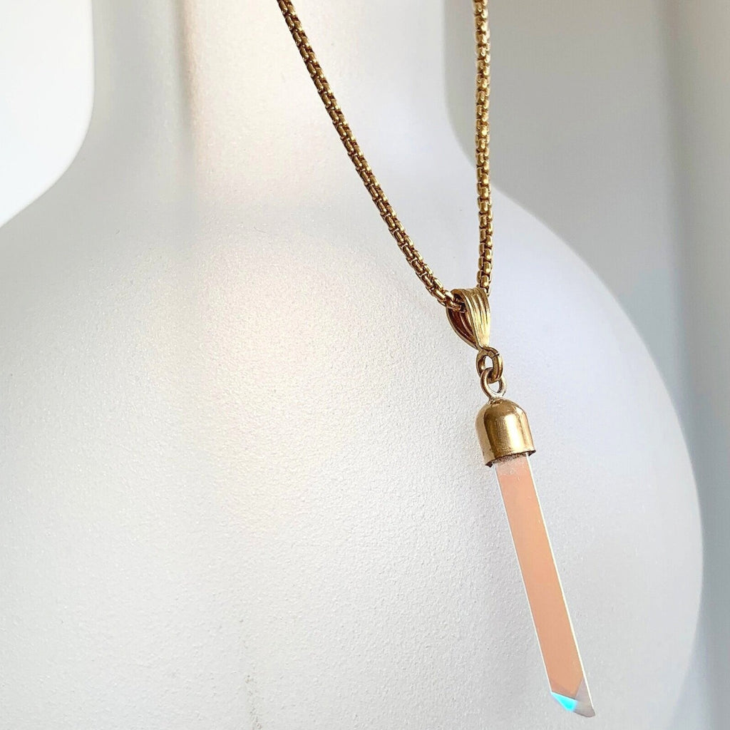GOLD ROPE TWINKLE NECKLACE