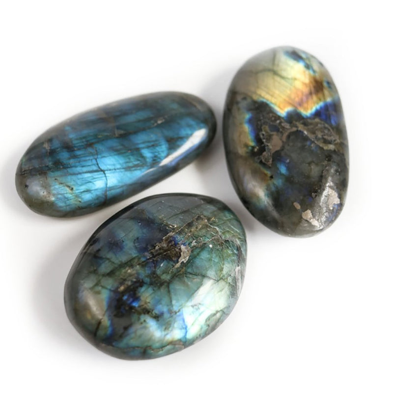 LABRADORITE - SMALL PALM STONE