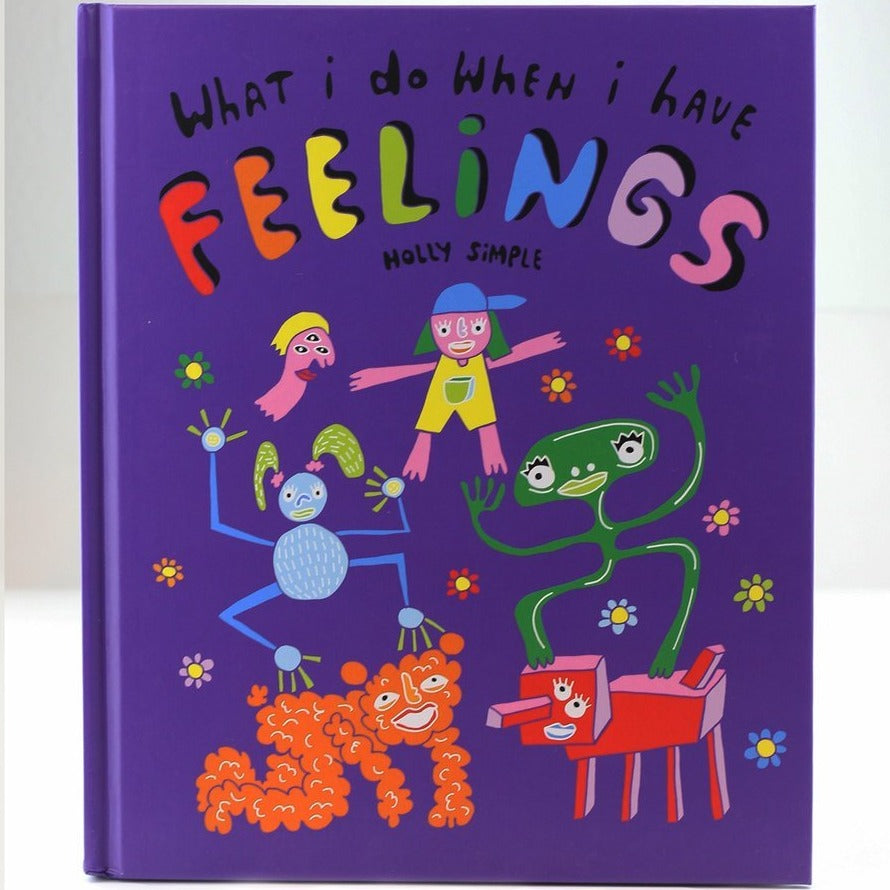 WHAT I DO WHEN I HAVE FEELINGS BOOK