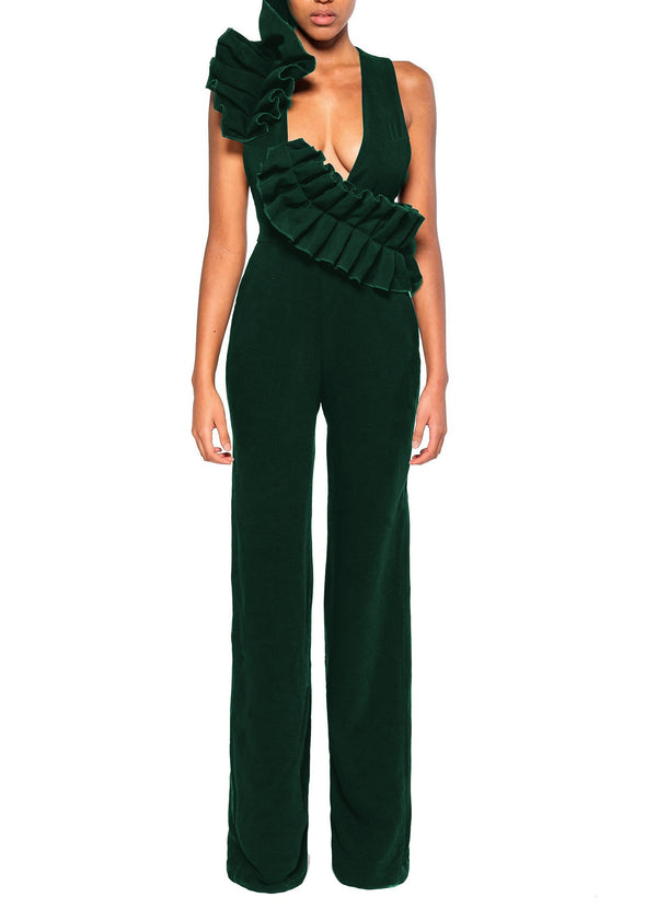 IMAN Green Jumpsuit