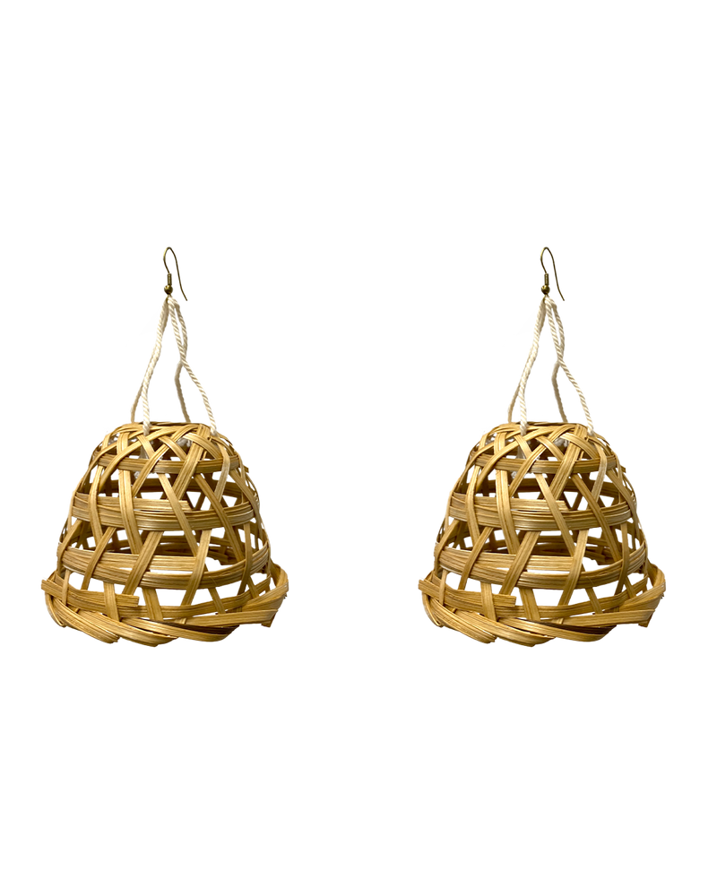 RIVER BASKET EARRINGS