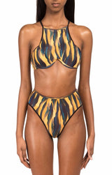 TOUCA High Waist Bikini