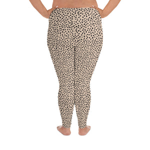 Spotted Plus Size Leggings
