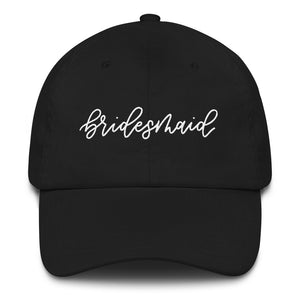 Open image in slideshow, Bridesmaid Baseball Hat
