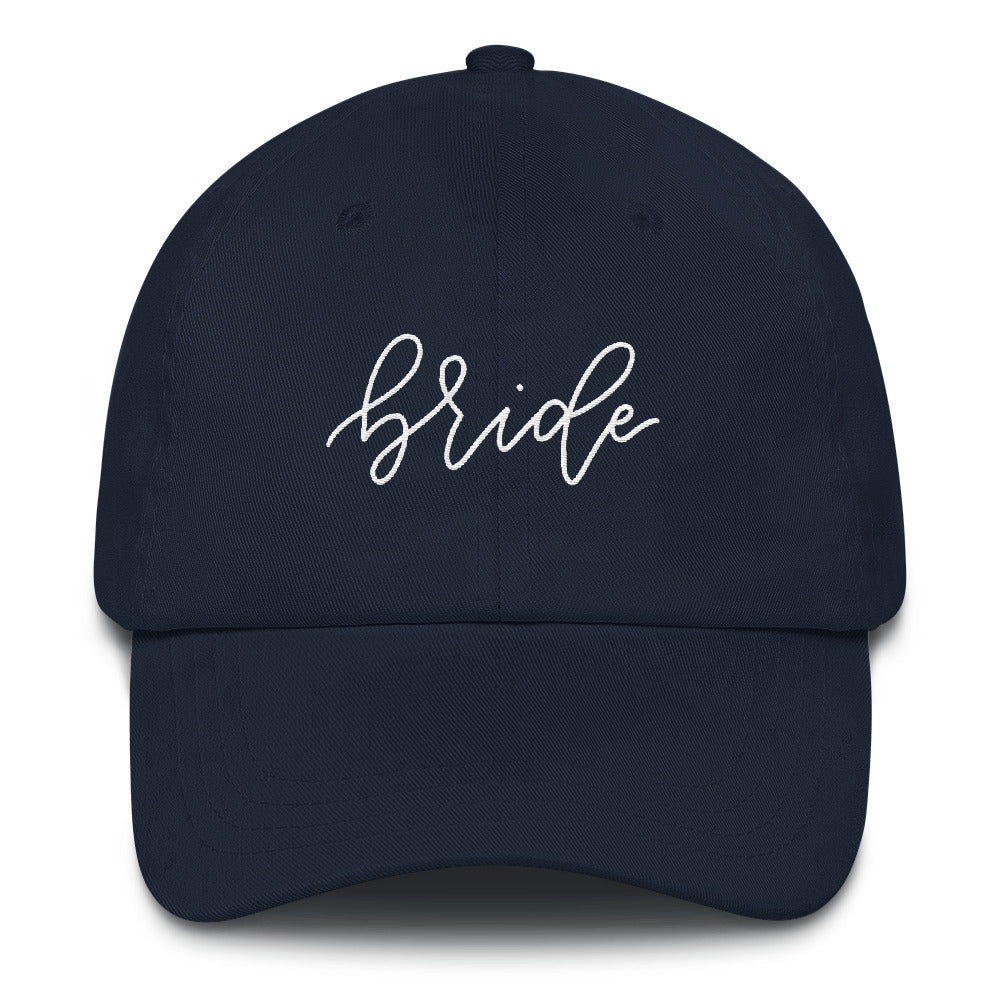 Embroidered Bride Baseball Hat