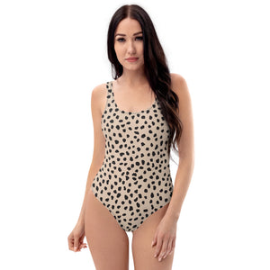 Open image in slideshow, Spotted One-Piece Swimsuit