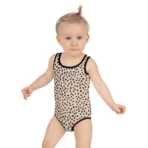 Spotted Kids Swimsuit
