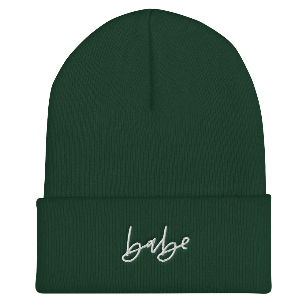 Babe Cuffed Beanie MORE COLORS