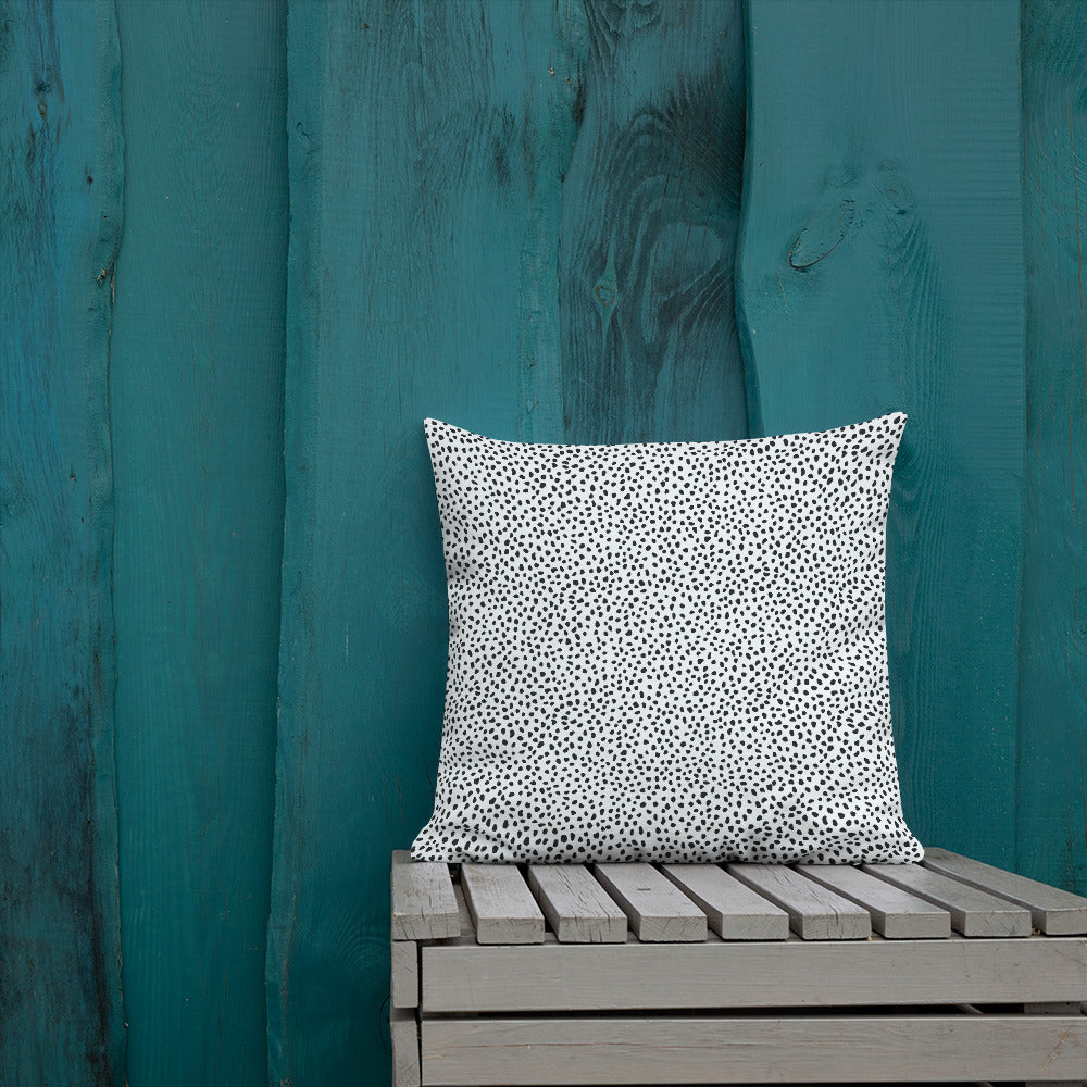 White Spotted Premium Pillow
