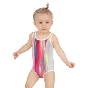 Open image in slideshow, Think in Pink Kids Swimsuit