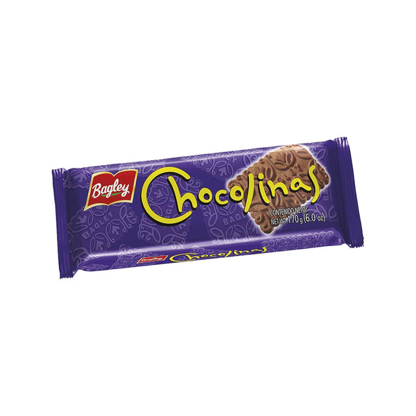 Galletitas Chocolinas - Bagley - 170g