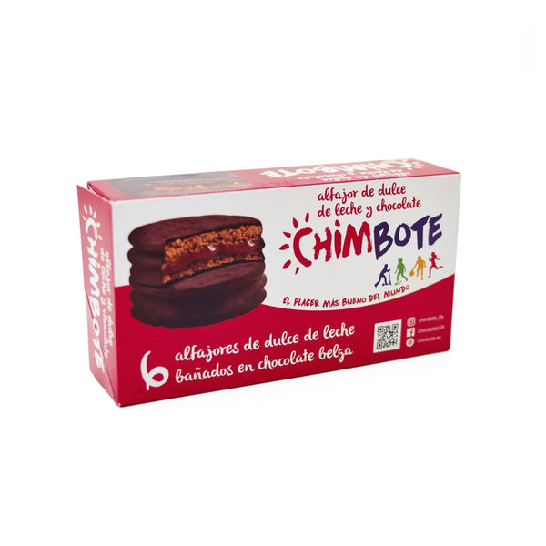 Alfajor - Chocolate y Dulce de Leche x 6 - Chimbote