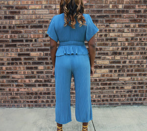 Brunch in Barcelona Pants Set