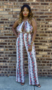 All Eyes on Me Halter Jumpsuit