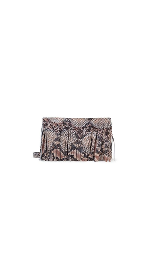 Houston Fringe Clutch