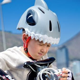 Casque - Requin gris par Crazy Safety - Mode | Jourès