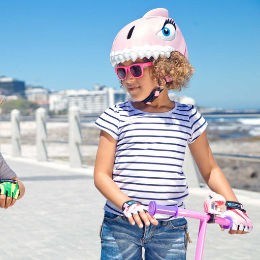 Casque - Requin rose par Crazy Safety - Mode | Jourès