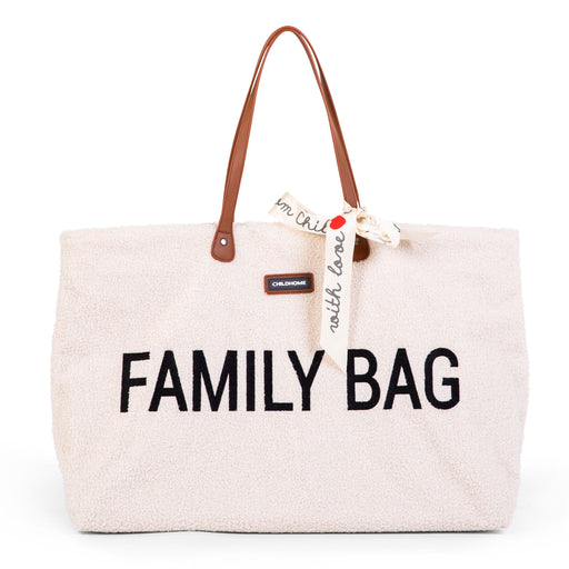 Sac à langer Family Bag - Teddy écru par Child Home - Mode | Jourès