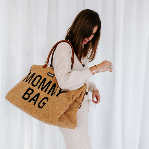 Sac à langer Mommy Bag - Teddy beige par Child Home - Mode | Jourès