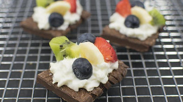Brownie Fruit Tart #MAXMUNCHIES