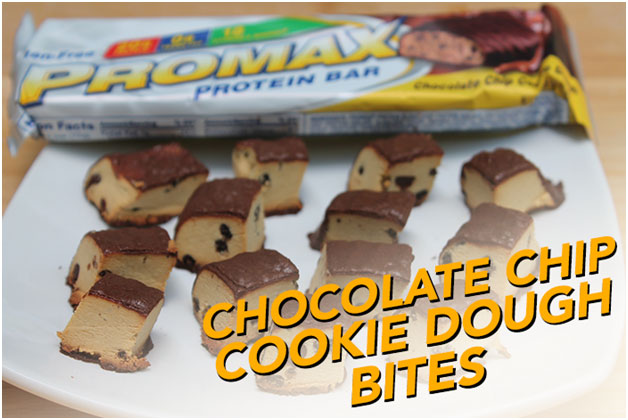 Promax Chocolate Chip Cookie Dough Bites