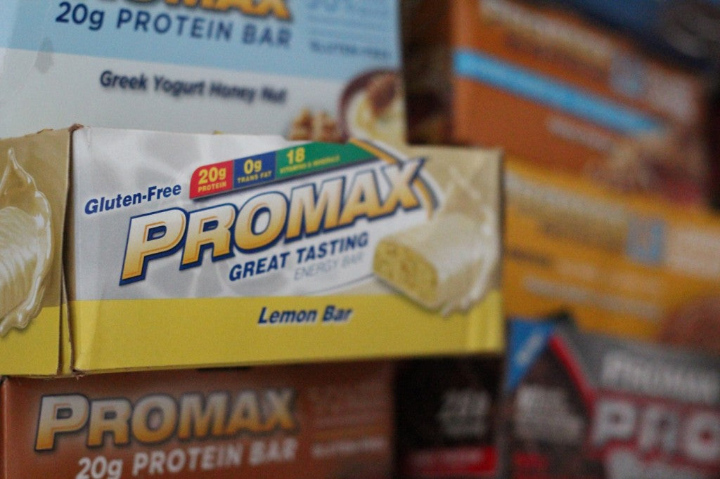 Promax nutrition bar