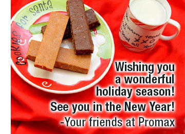Promax Nutrition Holiday Greeting