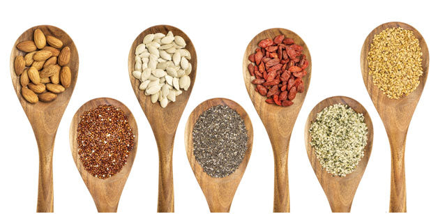 Seeds, spices and nuts
