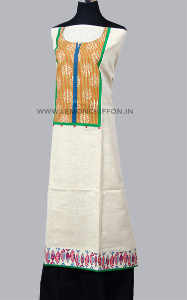 Block Printed Cotton Kurta