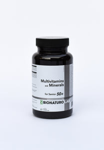Multivitamins and Minerals for Senior 50+