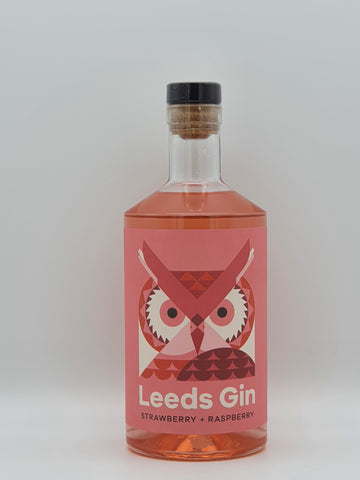 True North Brew Co - Leeds Gin Strawberry & Raspberry 70cl