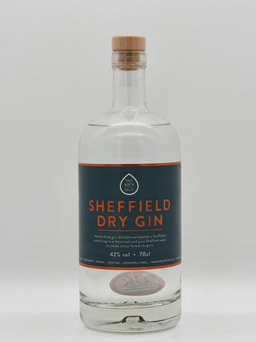 True North Brew Co - Sheffield Dry Gin 70cl / 42%