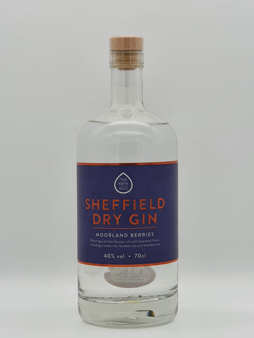 True North Brew Co - Sheffield Dry Gin Moorland Berries 70cl