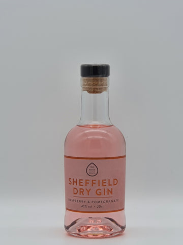 True North Brew Co - Sheffield Dry Gin Raspberry & Pomegranate 20cl