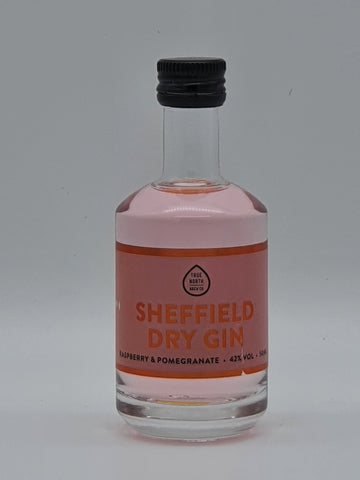 True North Brew Co - Sheffield Dry Gin Raspberry & Pomegranate 5cl