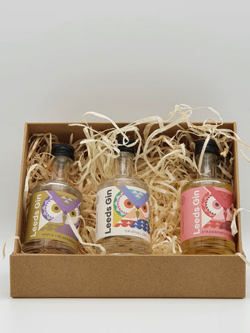 True North Brew Co - Leeds Gin Gift Set 3x 5cl