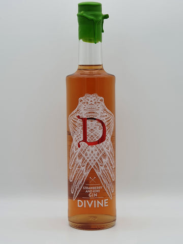 Divine Gin - Strawberry and Kiwi 70cl
