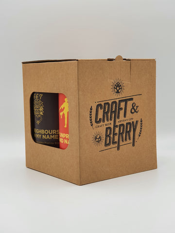 Four Can Cube Gift Box - Craft & Berry Stamped