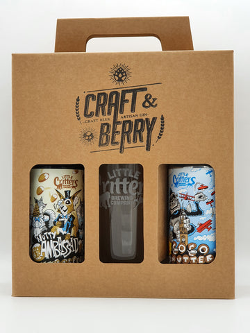 Little Critters Brewing Co. - Stout + Glass Gift Pack