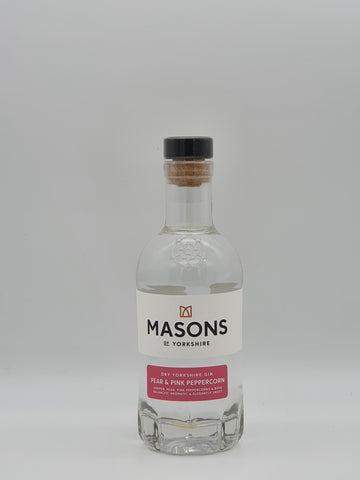Masons Distillery - Masons of Yorkshire Pear & Pink Peppercorn Gin 20cl