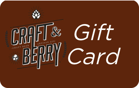 Craft & Berry Gift Card