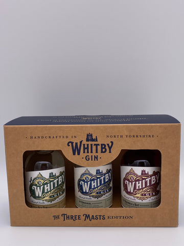 Whitby Gin - Three Masts Gift Set 3 x 5cl