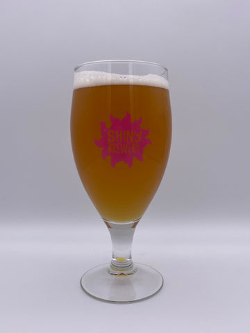Shiny Brewery - Stemmed Pint Branded Glass