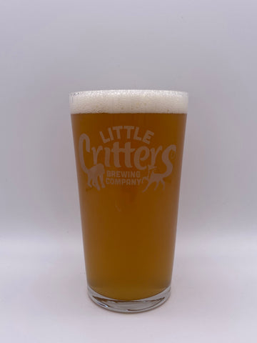 Little Critters Brewing Co. - Pint Branded Glass