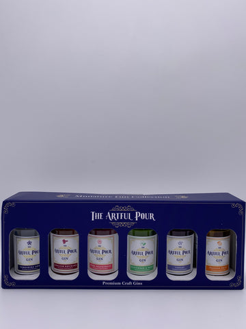 The Artful Pour - Miniature Gin Collection 6x 5cl