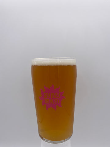 Shiny Brewery - Conical Pint Branded Glass