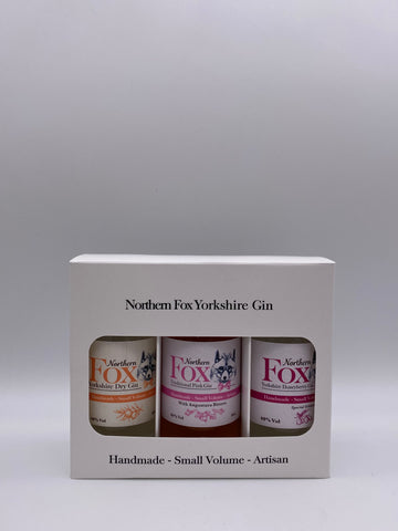 Northern Fox - 3 Gin Gift Set 3 x 10cl