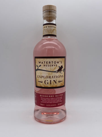 Waterton's Reserve - Explorations Redberry Blush Gin 70cl